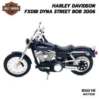 โมเดลฮาเล่ย์ HARLEY DAVIDSON DYNA STREET BOB 2006 (1:12) จำลองเหมือนจริง