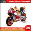 โมเดล MotoGP 2018 HONDA RC213V 2018 Repsol No.93 MARC MARQUEZ