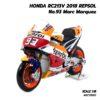 โมเดล MotoGP Honda RC213V 2018 Repsol Marc Marquez 93 motogp (1:18)