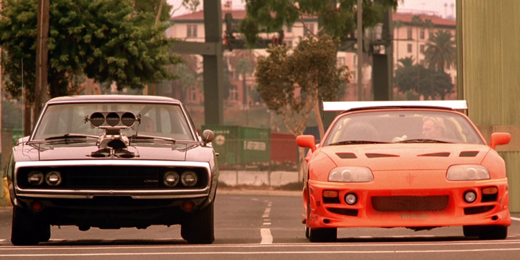 Dodge Charger 1970 & Toyota Supra 1995