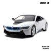 model bmw i8 white (1:24)