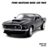 โมเดลฟอร์ดมัสแตง Ford Mustang Boss 429 1969 สีดำ (Scale 1/24)