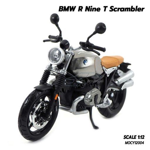 โมเดลมอเตอร์ไซด์ BMW R Nine T Scrambler (Scale 1/12)