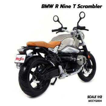 โมเดลมอเตอร์ไซด์ BMW R Nine T Scrambler (Scale 1/12) โมเดลประกอบสำเร็จ