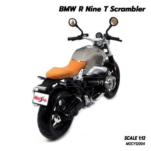 โมเดลมอเตอร์ไซด์ BMW R Nine T Scrambler (Scale 1/12) โมเดลคลาสสิค เหมือนจริง