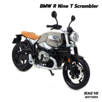 โมเดลมอเตอร์ไซด์ BMW R Nine T Scrambler (Scale 1/12) มอไซด์คลาสสิคจำลอง