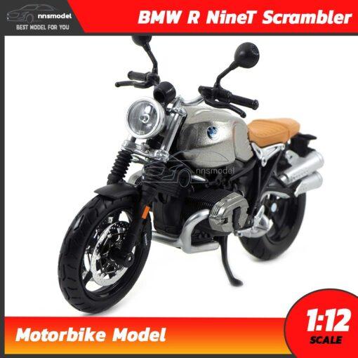 โมเดลมอเตอร์ไซด์ BMW R NineT Scrambler (Scale 1:12)