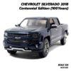 โมเดลรถกระบะ เชฟวี่ Silverado 2018 (1:24)