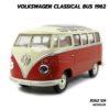โมเดลรถ Volkswagen Bus 1962 สีน้ำตาลส้ม (1:24)