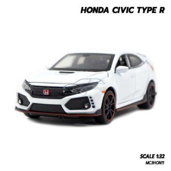 โมเดลรถยนต์ HONDA CIVIC TYPE R (Scale 1:32) โมเดลรถเหล็ก ซีวิค มีเสียงมีไฟ