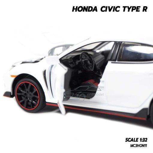 โมเดลรถยนต์ HONDA CIVIC TYPE R (Scale 1:32) ภายในรถเหมือนจริง