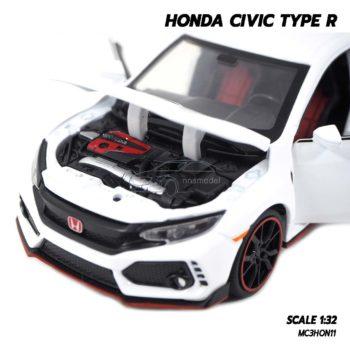 โมเดลรถยนต์ HONDA CIVIC TYPE R (Scale 1:32) เครื่องยนต์เหมือนจริง