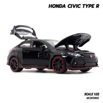 โมเดลรถ HONDA CIVIC TYPE R สีดำ (Scale 1:32) ซีวิค 5 ประตู