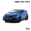 โมเดลรถยนต์ HONDA CIVIC TYPE R (Scale 1:32)