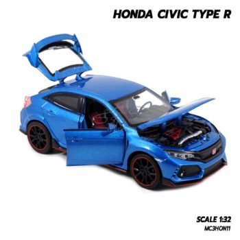 โมเดลรถยนต์ HONDA CIVIC TYPE R (Scale 1:32) โมเดลรถฮอนด้า ซีวิค