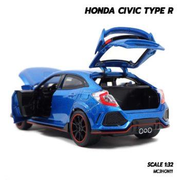 โมเดลรถยนต์ HONDA CIVIC TYPE R (Scale 1:32) เปิดประตูท้ายรถได้