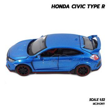 โมเดลรถยนต์ HONDA CIVIC TYPE R (Scale 1:32) โมเดล Civic 2018