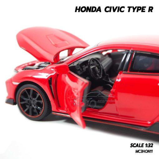 โมเดลรถยนต์ HONDA CIVIC TYPE R (Scale 1:32) โมเดลรถภายในเหมือนจริง