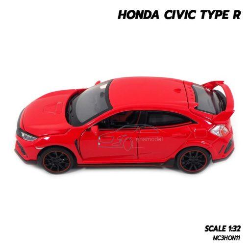 โมเดลรถยนต์ HONDA CIVIC TYPE R (Scale 1:32) โมเดลรถเหล็ก ประกอบสำเร็จ