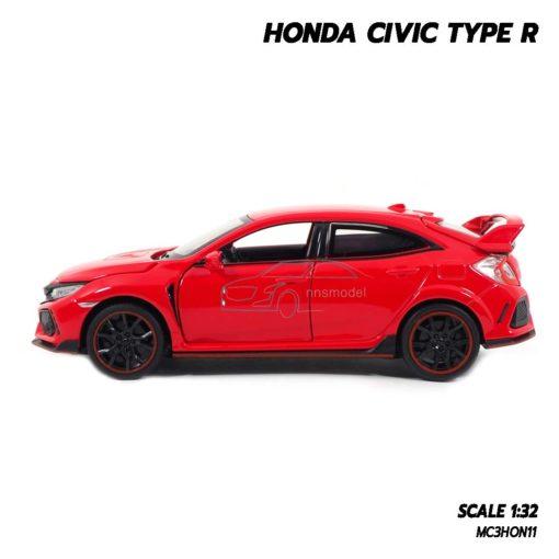 โมเดลรถยนต์ HONDA CIVIC TYPE R (Scale 1:32) โมเดลรถเหล็ก พร้อมตั้งโชว์