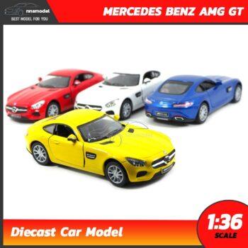 โมเดลรถเบนซ์ MERCEDES BENZ AMG GT 4 สี