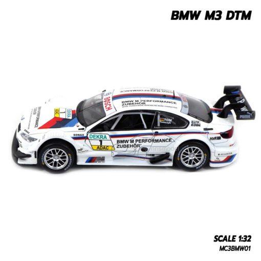 โมเดลรถ BMW M3 DTM (Scale 1/32) โมเดลรถสปอร์ต ประกอบสำเร็จ