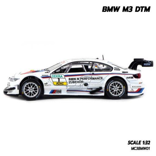 โมเดลรถ BMW M3 DTM (Scale 1/32) โมเดลรถสปอร์ต ประกอบสำเร็จ พร้อมตั้งโชว์