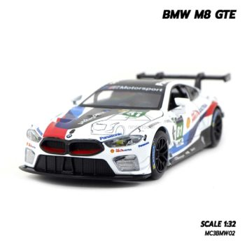 โมเดลรถ BMW M8 GTE Motorsport (Scale 1/32)
