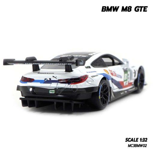 โมเดลรถ BMW M8 GTE Motorsport (Scale 1/32) โมเดลรถเหล็กจำลอง