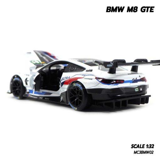 โมเดลรถ BMW M8 GTE Motorsport (Scale 1/32) ภายในรถเหมือนจริง