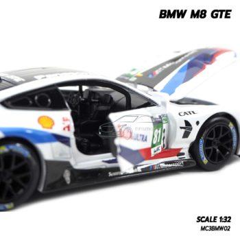 โมเดลรถ BMW M8 GTE Motorsport (Scale 1/32) โมเดลรถสปอร์ต รุ่นขายดี