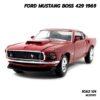 โมเดลรถ FORD MUSTANG BOSS 429 1969 สีแดง (Scale 1/24)