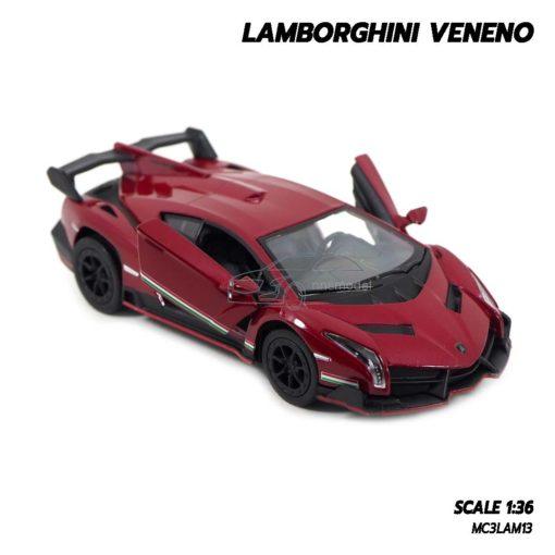 โมเดลรถ Lamborghini Veneno เปิดประตูปีกนกซ้ายขวาได้