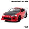 โมเดลรถ MITSUBISHI ECLIPSE 1995 (1:24) โมเดลรถประกอบสำเร็จ