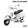 โมเดลเวสป้า VESPA GTS 300 SUPER สีขาว (Scale 1:12)