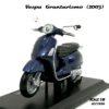 โมเดล VESPA GRANTURISMO 2003 สีน้ำเงิน (1:18)