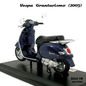 โมเดล VESPA GRANTURISMO 2003 สีน้ำเงิน (1:18) ผลิตโดยแบรนด์ Maisto