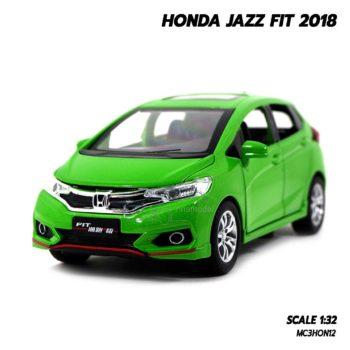 โมเดลรถแจ๊ส FIT 2018 สีเขียว (1:32)