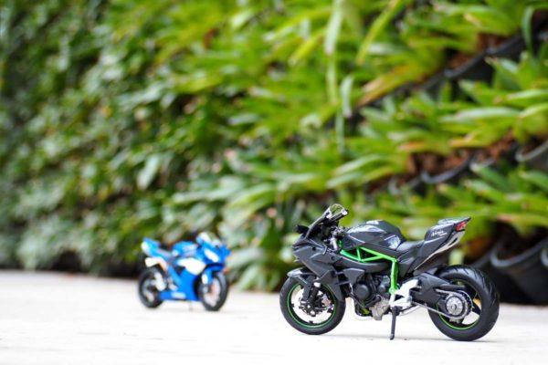 โมเดลรถบิ๊กไบค์ Kawasaki Ninja H2R