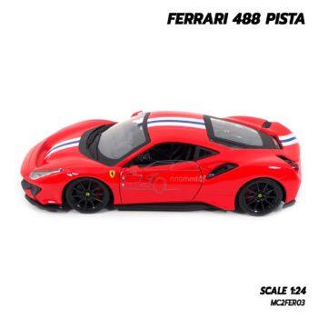โมเดลรถ FERRARI 488 PISTA (1:24) รถโมเดลประกอบสำเร็จ