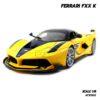 โมเดลรถ Ferrari FXX K สีเหลือง (1:18)