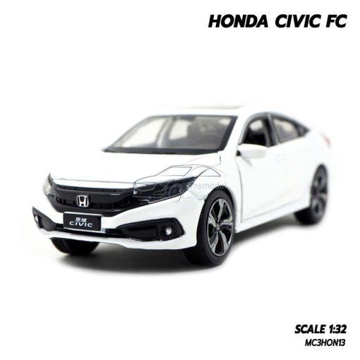 โมเดลรถ HONDA CIVIC FC สีขาว (1:32)
