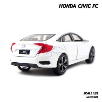 โมเดลรถ HONDA CIVIC FC สีขาว (1:32) รถโมเดลเหมือนจริง