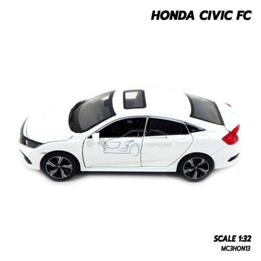 โมเดลรถ HONDA CIVIC FC สีขาว (1:32) โมเดลรถประกอบสำเร็จ