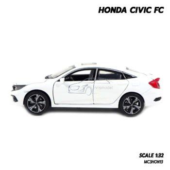 โมเดลรถ HONDA CIVIC FC สีขาว (1:32) โมเดลรถประกอบสำเร็จ ผลิตโดย JACKIEKIM