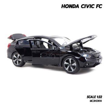 โมเดลรถ HONDA CIVIC FC สีดำ (1:32) โมเดลรถจำลองเหมือนจริง