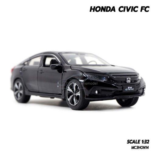 โมเดลรถ HONDA CIVIC FC สีดำ (1:32) โมเดลรถ มีเสียงมีไฟ