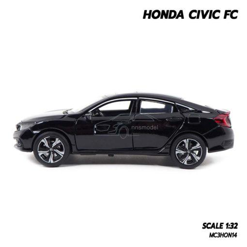 โมเดลรถ HONDA CIVIC FC สีดำ (1:32) โมเดลรถประกอบสำเร็จ สวยเหมือนจริง