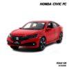 โมเดลรถ HONDA CIVIC FC สีแดง (1:32) โมเดลจำลองเหมือนจริง
