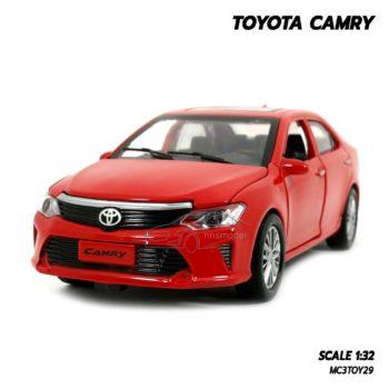 โมเดลรถ Toyota Camry สีแดง (1:32)